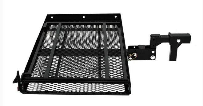 """EZC - 3 Height Adjustable Carrier - Adjustable Hitch Connector - ± 1"""", 3"""", or 5"""""""